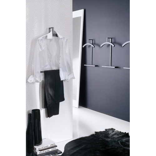 Double wall mounted clothes stand