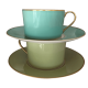 Empire breakfast cup & saucer