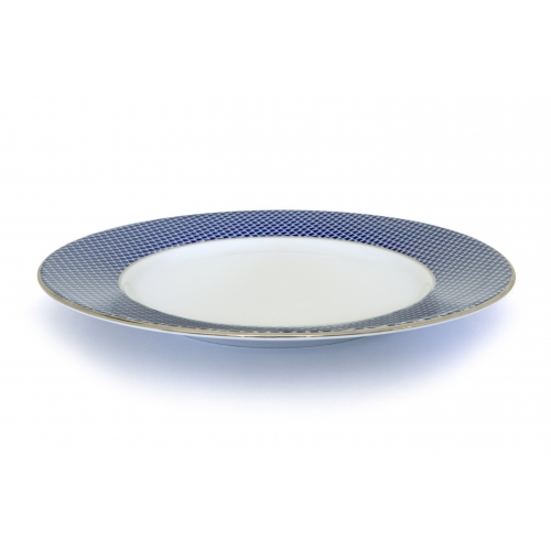 Dinner plate - Houndstooth