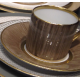 Empire coffee cup & saucer - Carbone