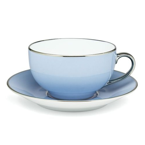 Round breakfast cup & saucer - Sous le Soleil