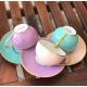 Round tea cup & saucer - Sous le Soleil