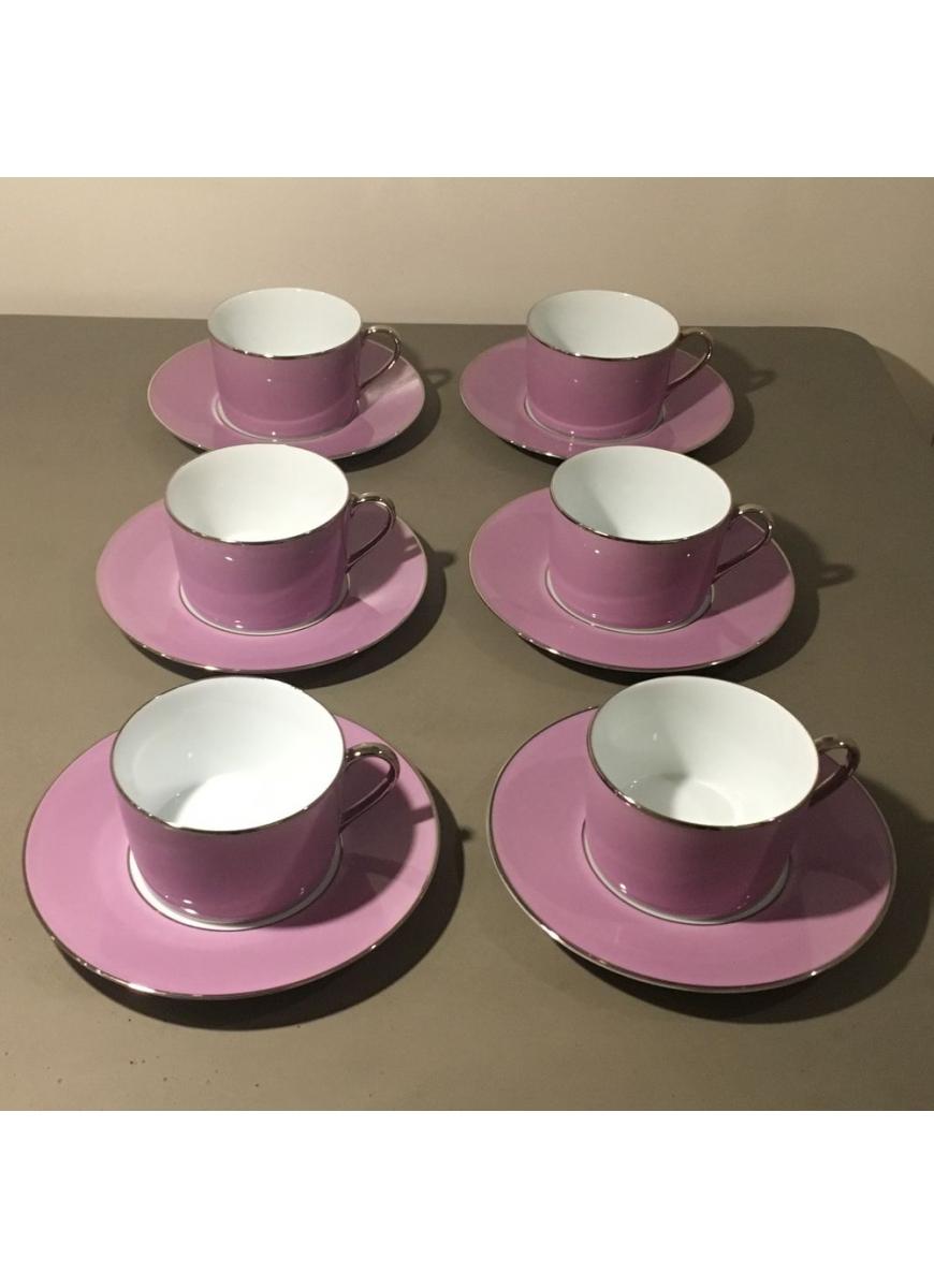 Empire breakfast cup & saucer - Sous le Soleil