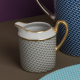 Empire cream jug 6 cups - Houndstooth