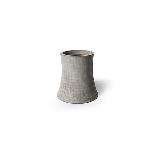 Nuclear plant T1 - H.16cm flower pot