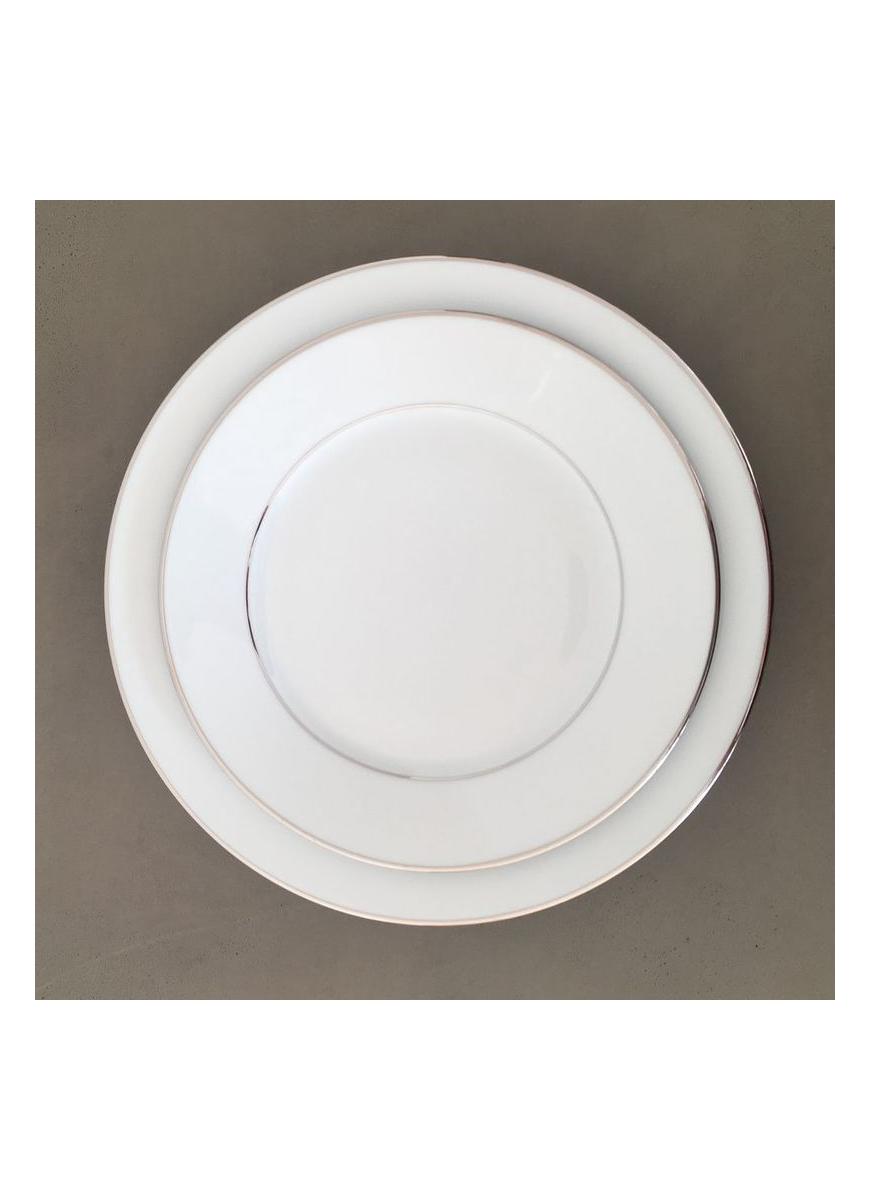 Soup plate - Sous le Soleil Pure Blanc
