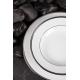 Dinner plate - Sous le Soleil Pure Blanc