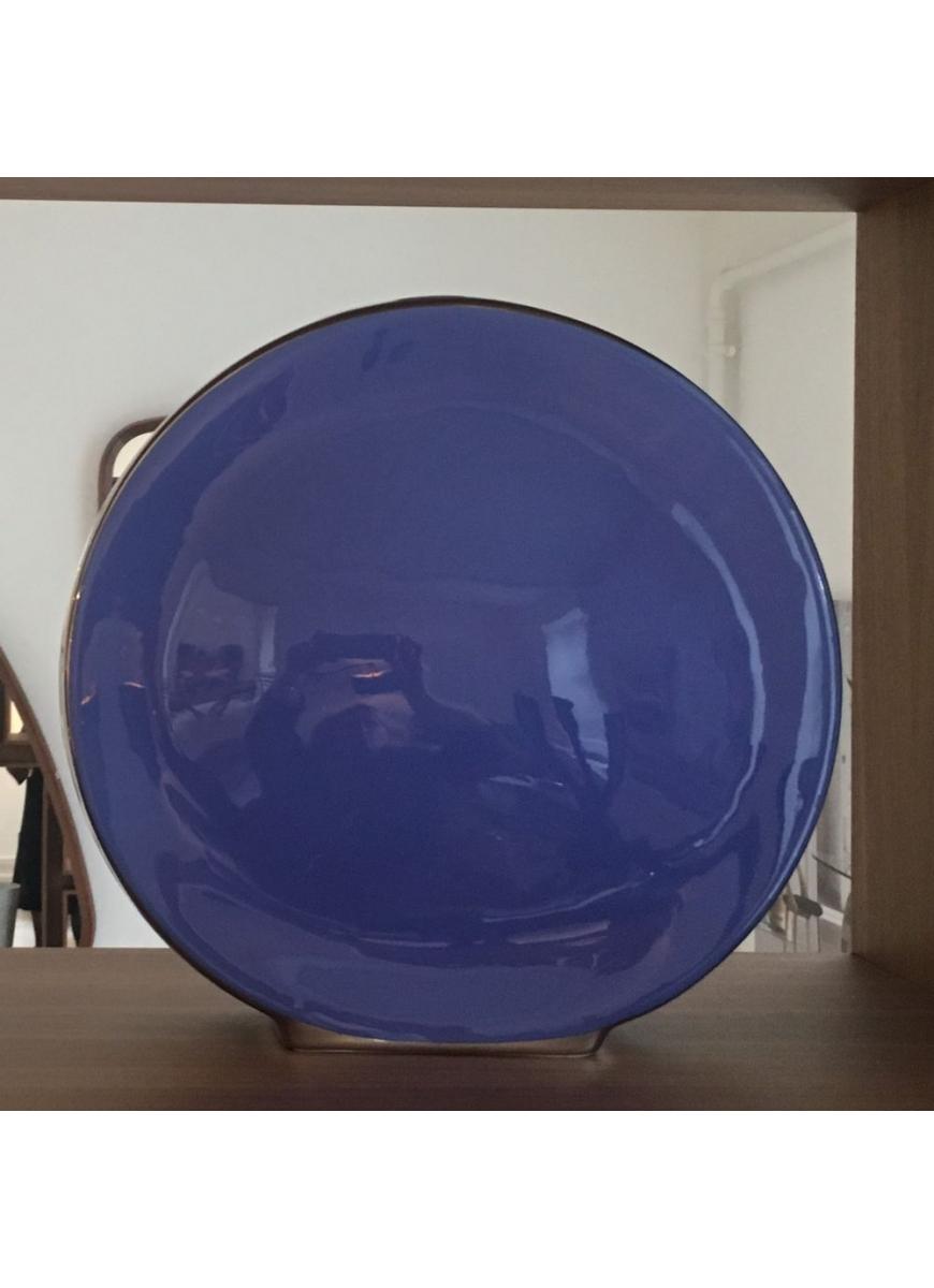 Vase Tonneau Provance Blue