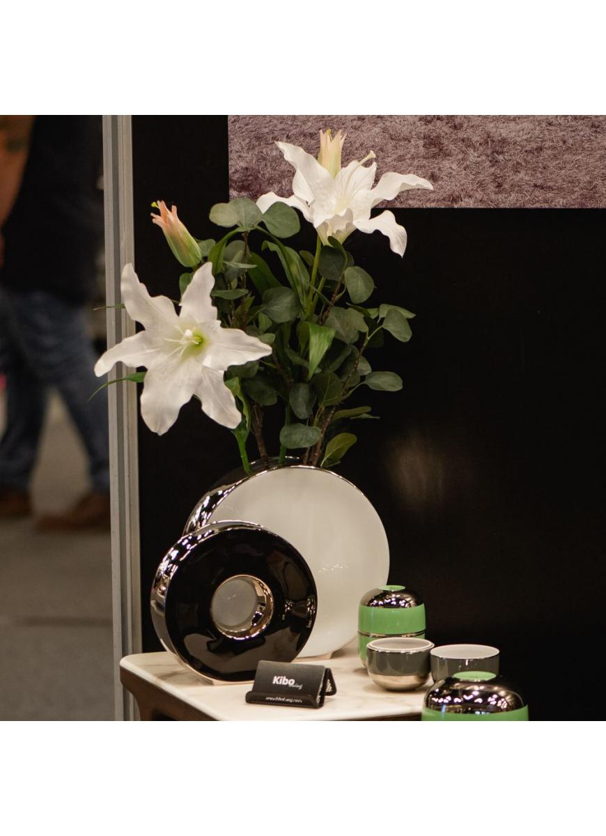 Vase Tonneau White