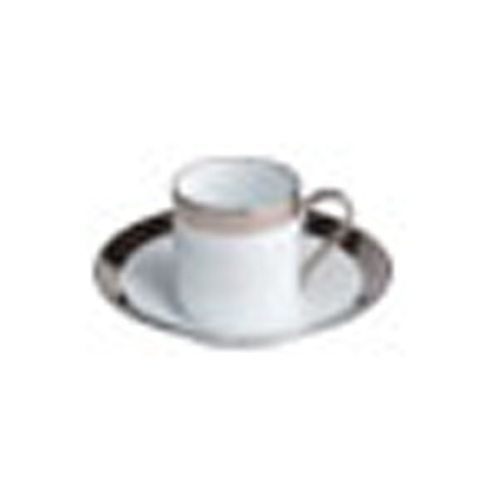 Empire moka cup & saucer - Alliance