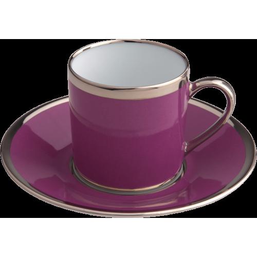 Empire coffee cup & saucer - Sous le Soleil